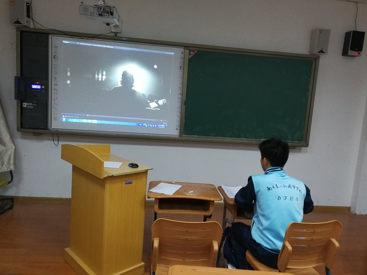 @LukasGraham Using \'7 years\' to teach my Chinese students English - they love it. #tefl #esl #china #teacherslife