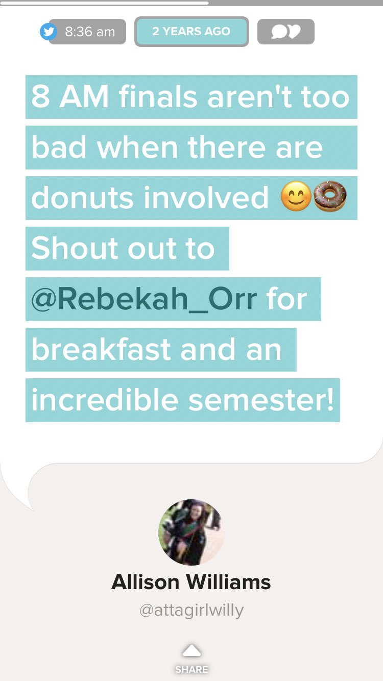 Still the best final ever �� #gonutsfordonuts @Rebekah_Orr https://t.co/AS4MOJblZ9