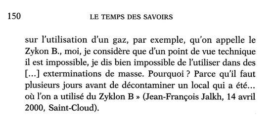 Je tombe sur ceci au sujet du nouveau président par intérim du FN!!!  (Le Temps des Savoirs, numéro 7, La Création, Odile Jacob, mars 2005).