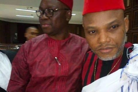 The DSS barred Former Aviation Minister, Mr. Femi Fani-Kayode and other journalists from witnessing the trial of Nnamdi Kanu in court on Tuesday.