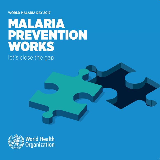 #WorldMalariaDay: Malaria is preventable and curable →  https://t.co/y...