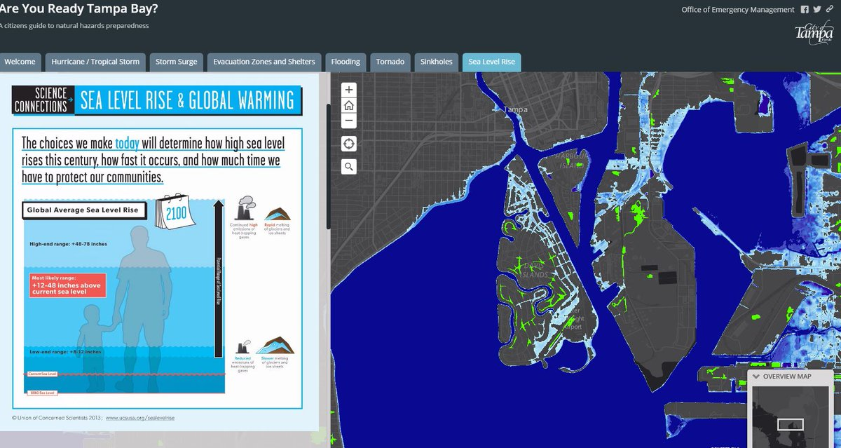 Alert Tampa On Twitter Check Out Our NEW Sea Level Rise - How to check sea level