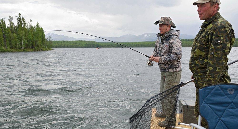путин о любительской рыбалке