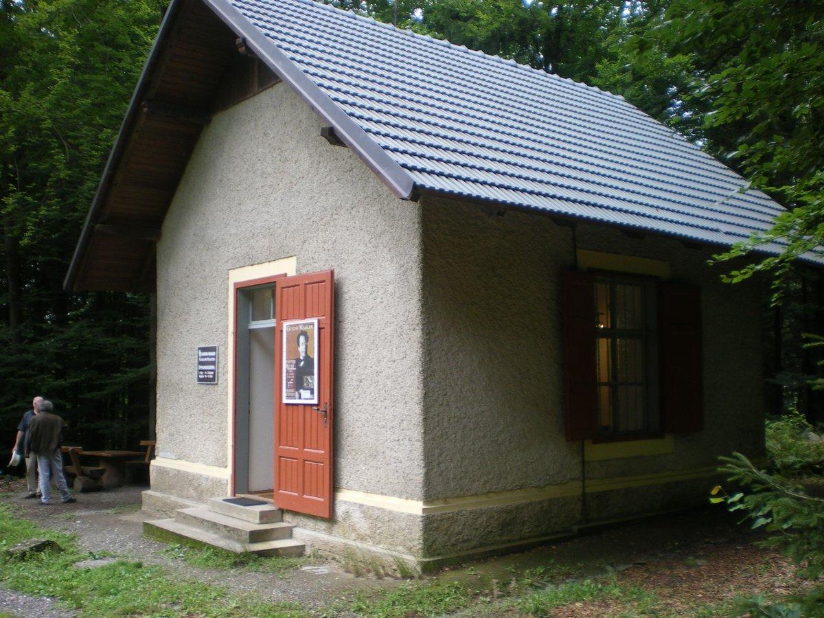 Aquí compuso #Mahler su 8ª Sinfonía en #Maiernigg , una mini casa para una maxi obra.