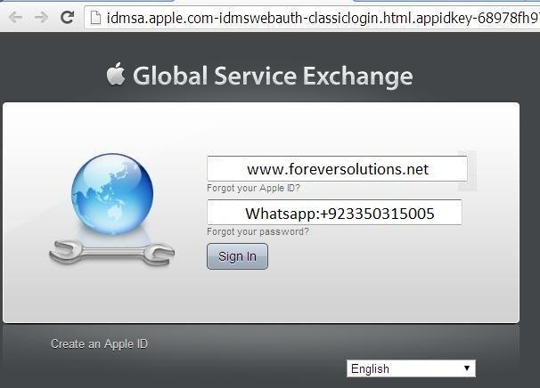 Apple GSX Server Accounts Whatsapp Now +923350315005
