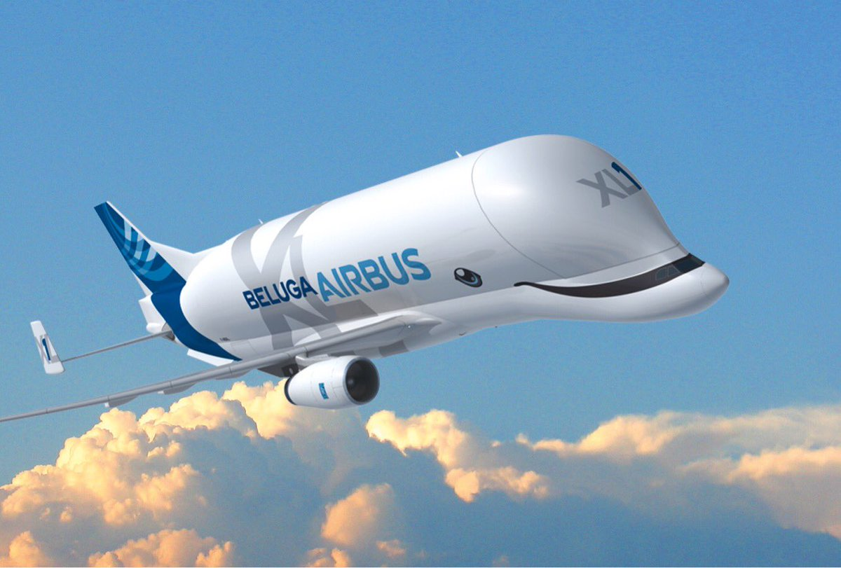 Our employees have selected the livery of the 1st #BelugaXL. Hit ❤️ if you like it as much as we do! https://t.co/URBArengQs
