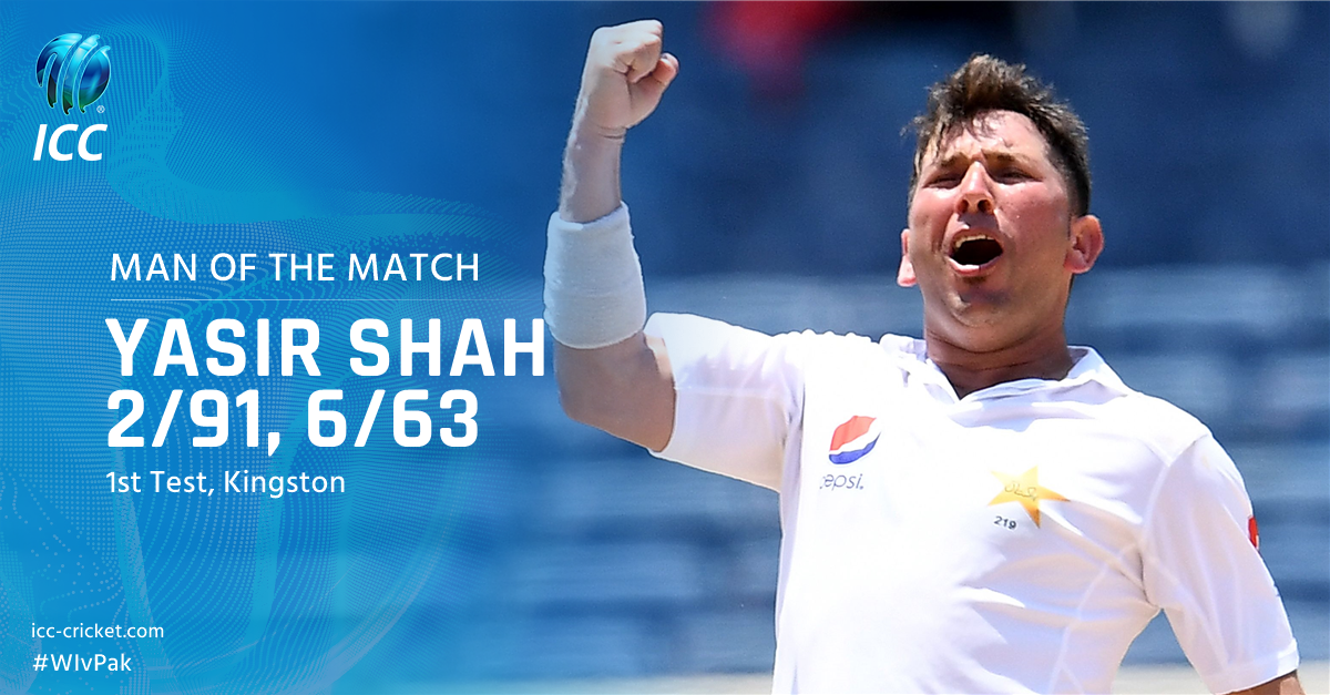 He took his 9th Test five wicket haul