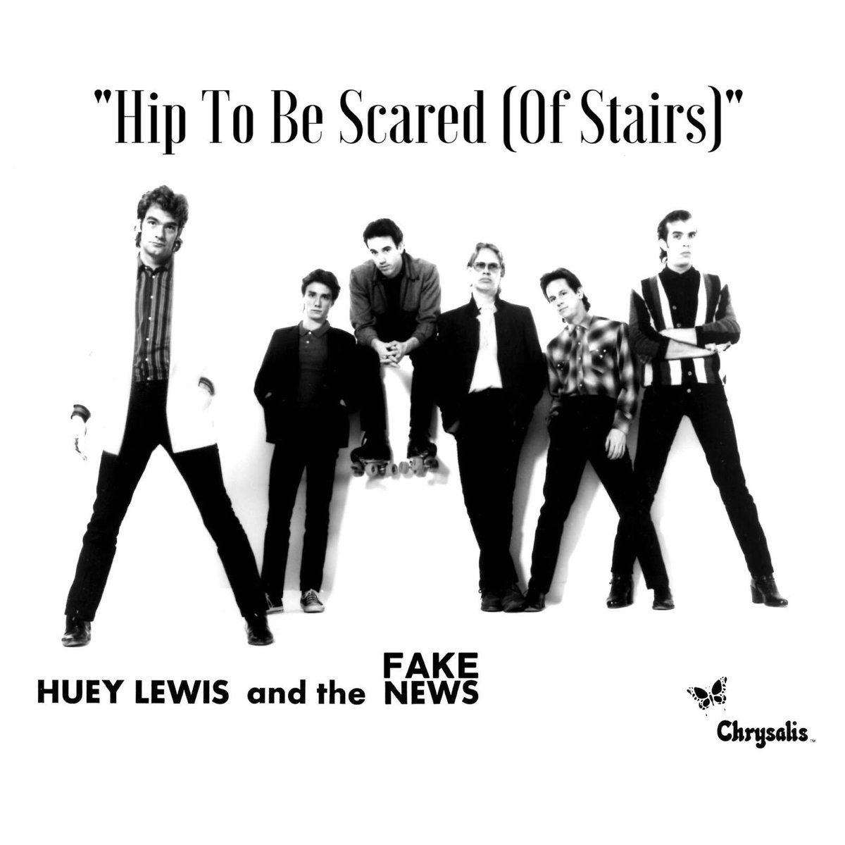 Huey Lewis & The Fake News - Hip To Be Scared (Of Stairs) #TrumpsD...