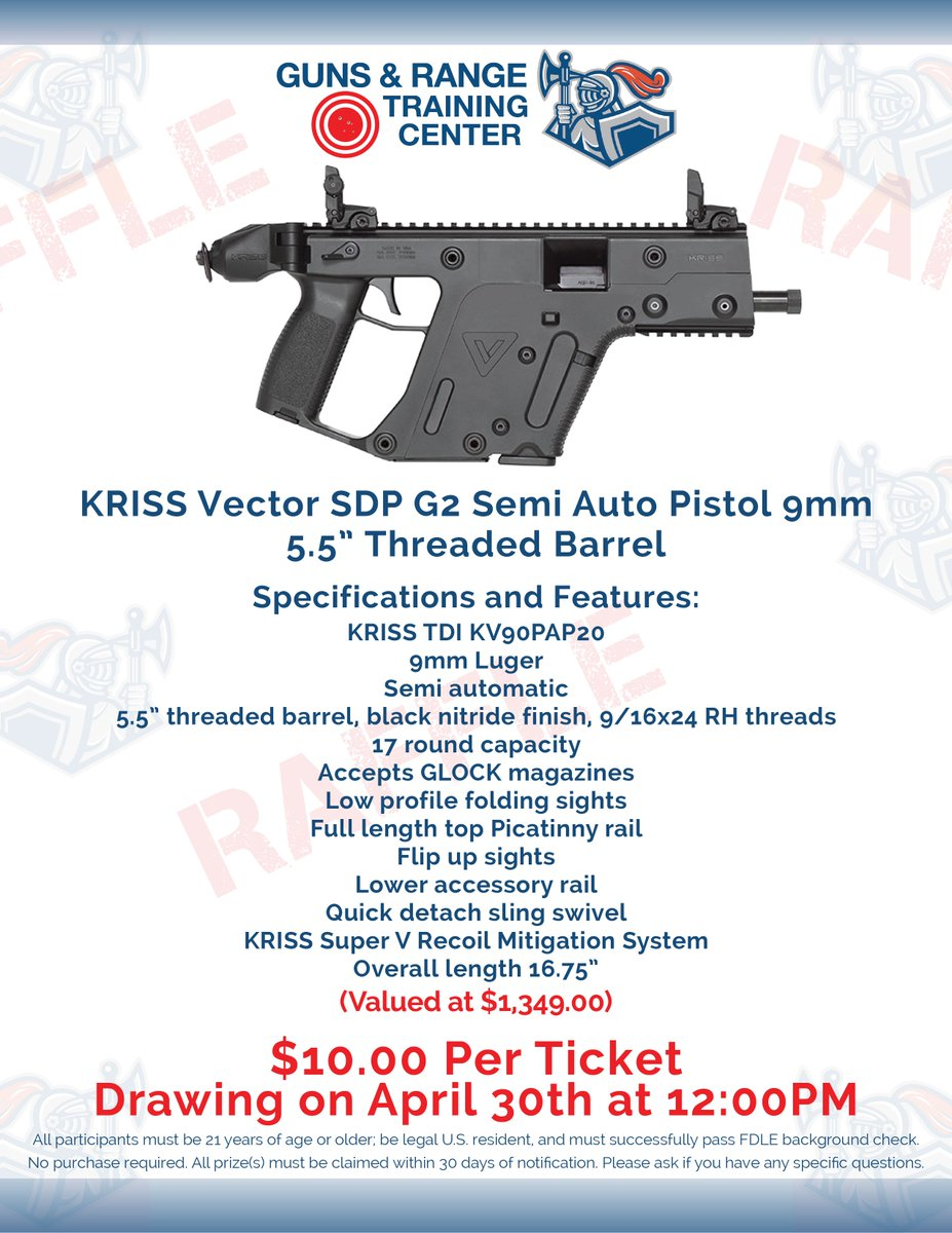 guns and range on twitter only a few more days until the raffle is