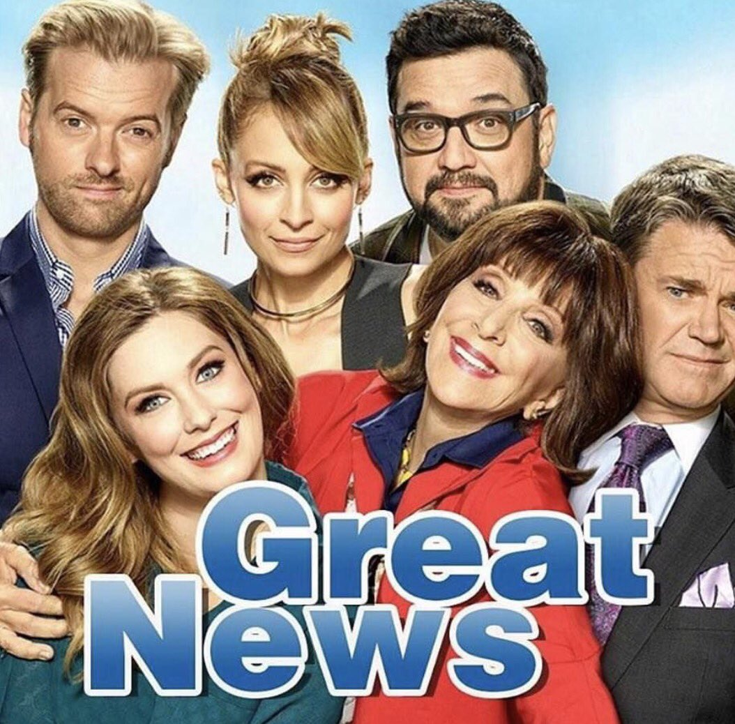 Happy #GreatNews Day! @NBCGreatNews premiers TONIGHT at 9/8c on NBC an...