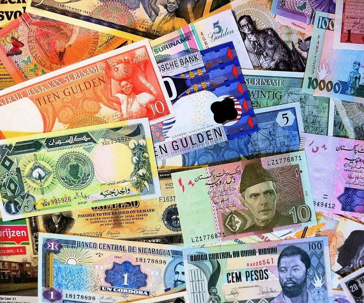 Деньги всего мира в картинках