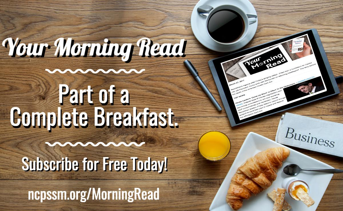 Have you subscribed to Your Morning Read yet? Sign up to receive #SocialSecurity, #Medicare, & healthcare news: https://t.co/1uZECknmjP https://t.co/ttinzLhewG