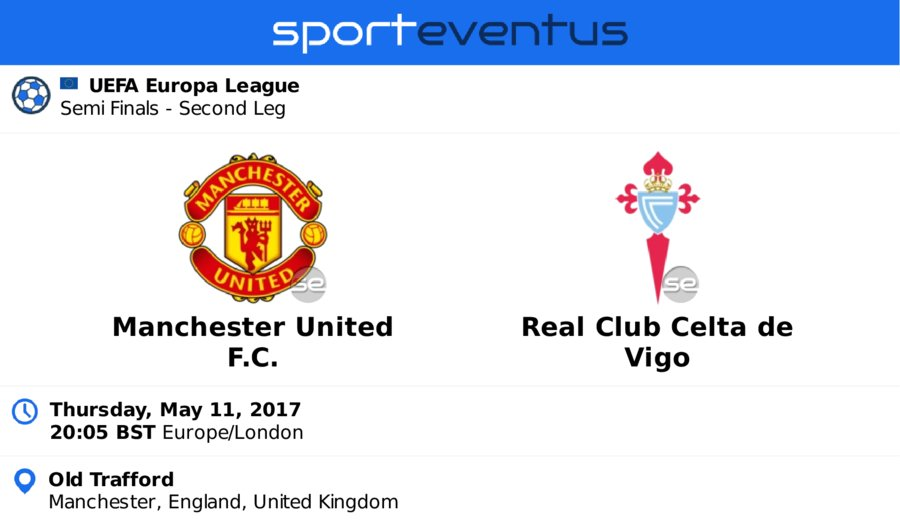 Compare #ticket prices & buy in-app  #MANUTD vs #rccelta #EuropaLeague  May 11th 20:05 BST  #OldTrafford  http:// link.sporteventus.com/evtw?event_id= 168082  … pic.twitter.com/MCThMQzt25