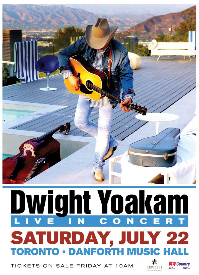 JUST ANNOUNCED: @DwightYoakam on Saturday, July 22. Tickets on sale Fr...