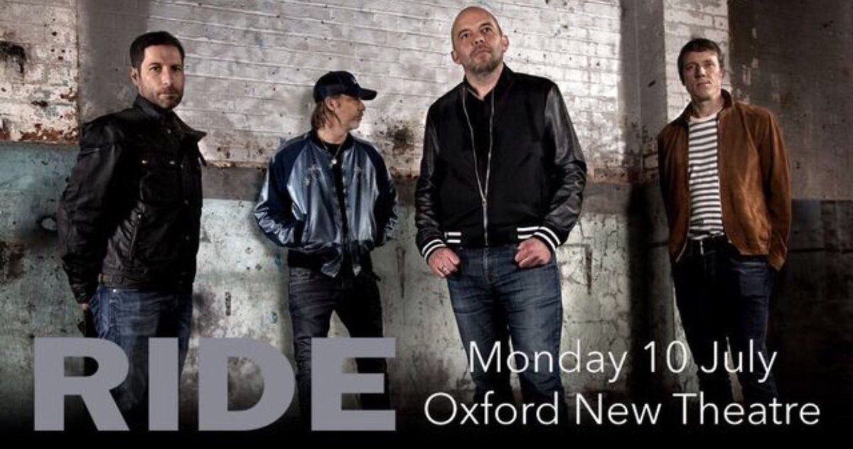 RT @rideox4 ICYMI Ride's epic homecoming show at Oxford New Theatre is the 10th July, come one, come all! Get your tickets https://t.co/guGq3sJbuh