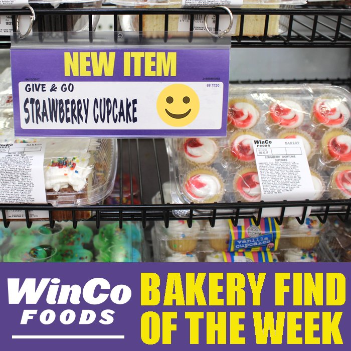 WinCo Foods On Twitter Strawberry Shortcake Cupcakes That Is All