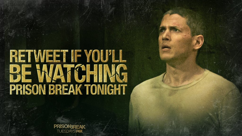 Michael's quest for freedom continues TONIGHT. Retweet if you'll be wa...