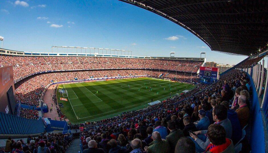 Noche de @Atleti!!!! Nos vemos en el Calderón afición!!!! #AtletiVilla...