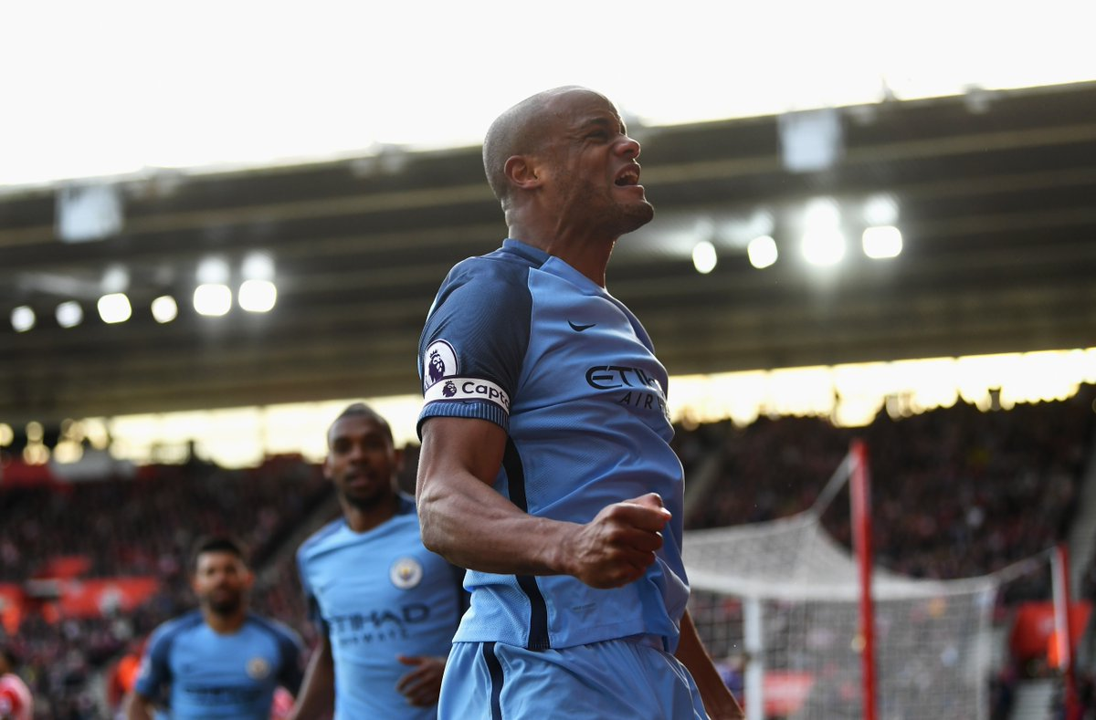 Gary Neville on Vincent Kompany: 'He will go down as being one of the...
