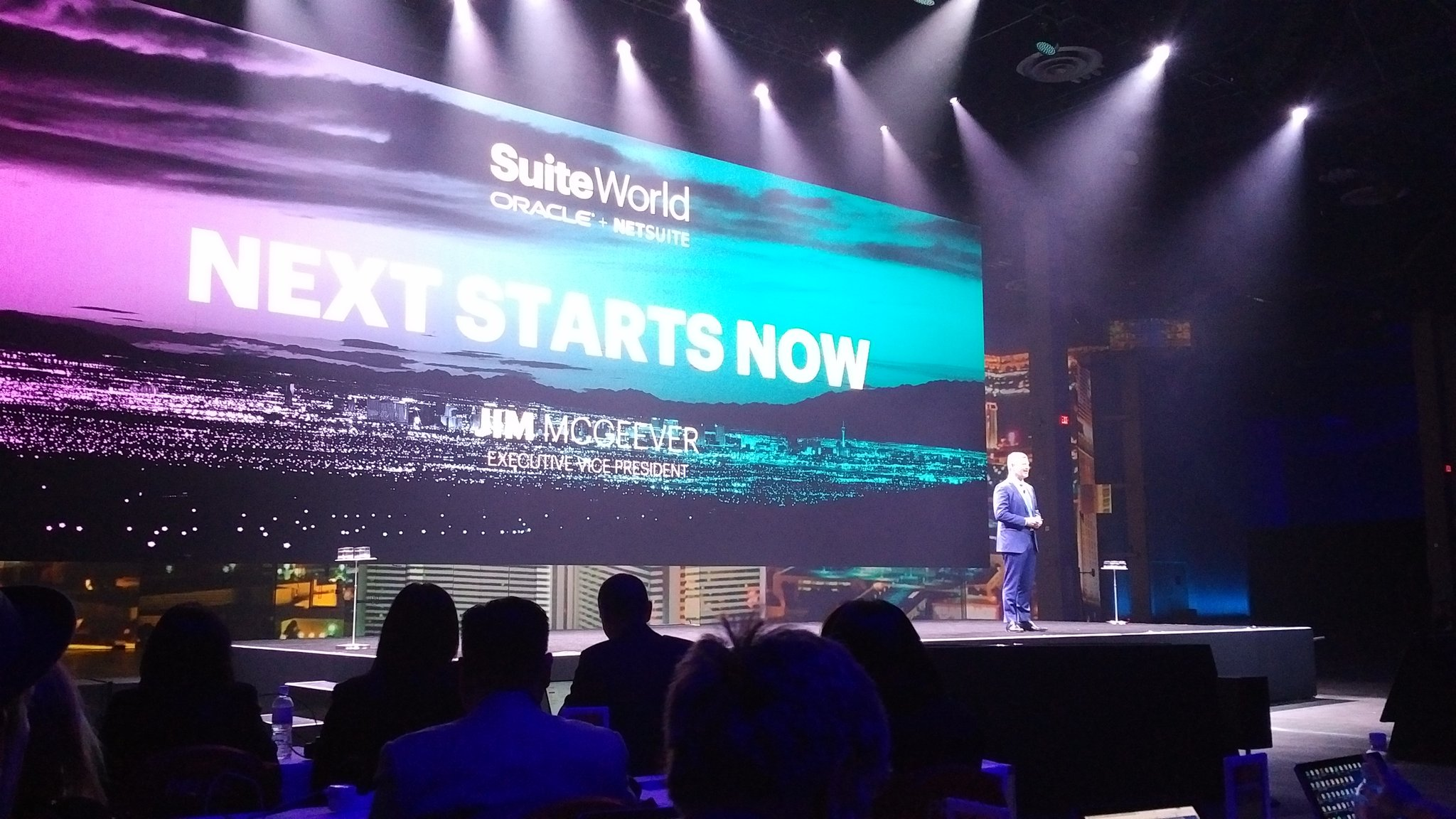 And we are off with Jim McGeever #SuiteWorld17 https://t.co/rp3nDuOKfr