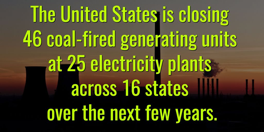 #US #Coal Plant Closures Likely To Eliminate 30 Million Tons Of Annual #Coal Demand  http:// bit.ly/2q2ZWor  &nbsp;   #divest <br>http://pic.twitter.com/Ouig5uYYdL