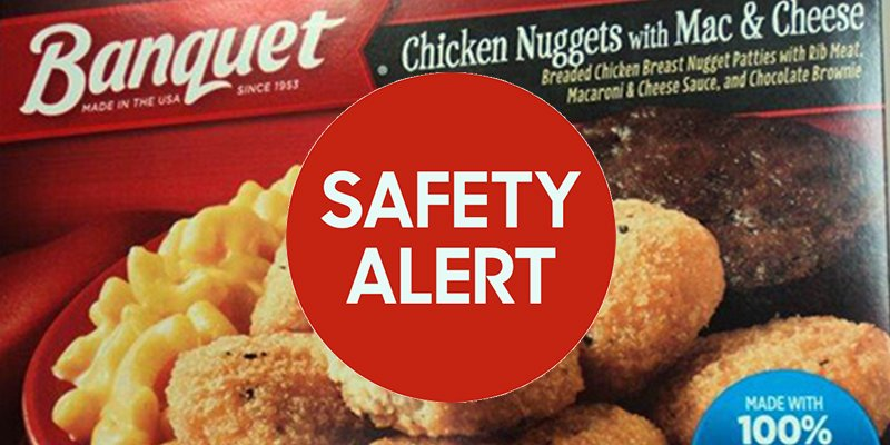 Over 239,000 Packages Of Banquet Frozen Meals Recalled For Salmonella...