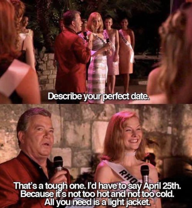 Today is the only day you can RT this #april25th