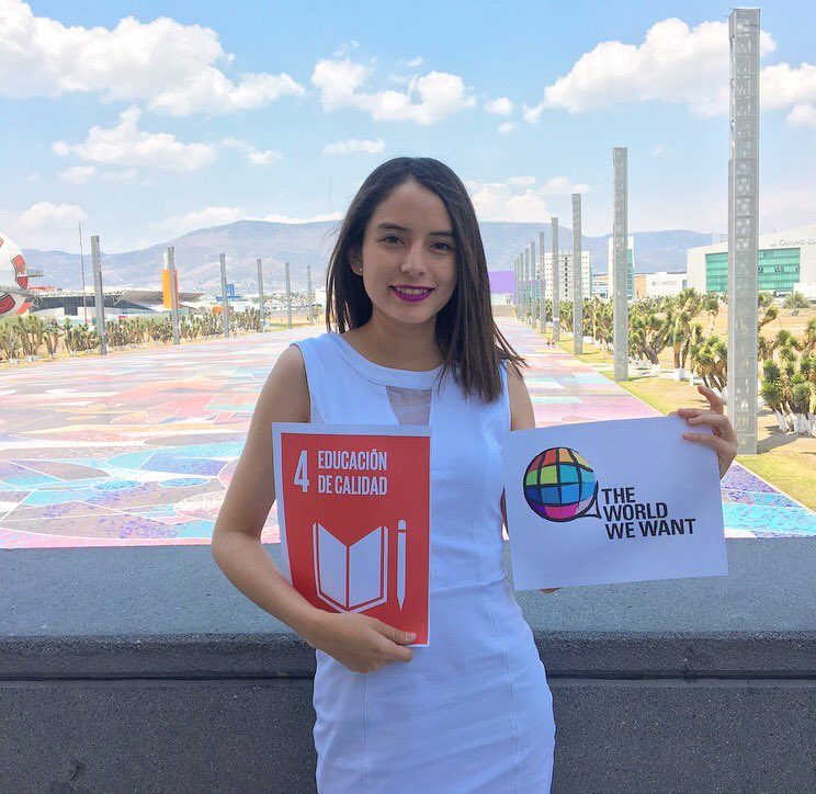 Por un mundo diferente, yo promuevo el ODS4 #YouthLeadSDGs @ravikarkara @fj_Carrasco https://t.co/WkRuGPWxfp