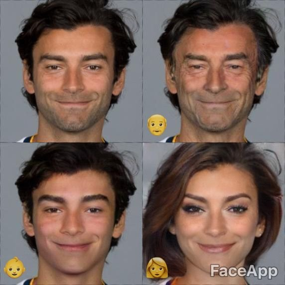We used FaceApp on the #LAGalaxy roster and the results were... someth...