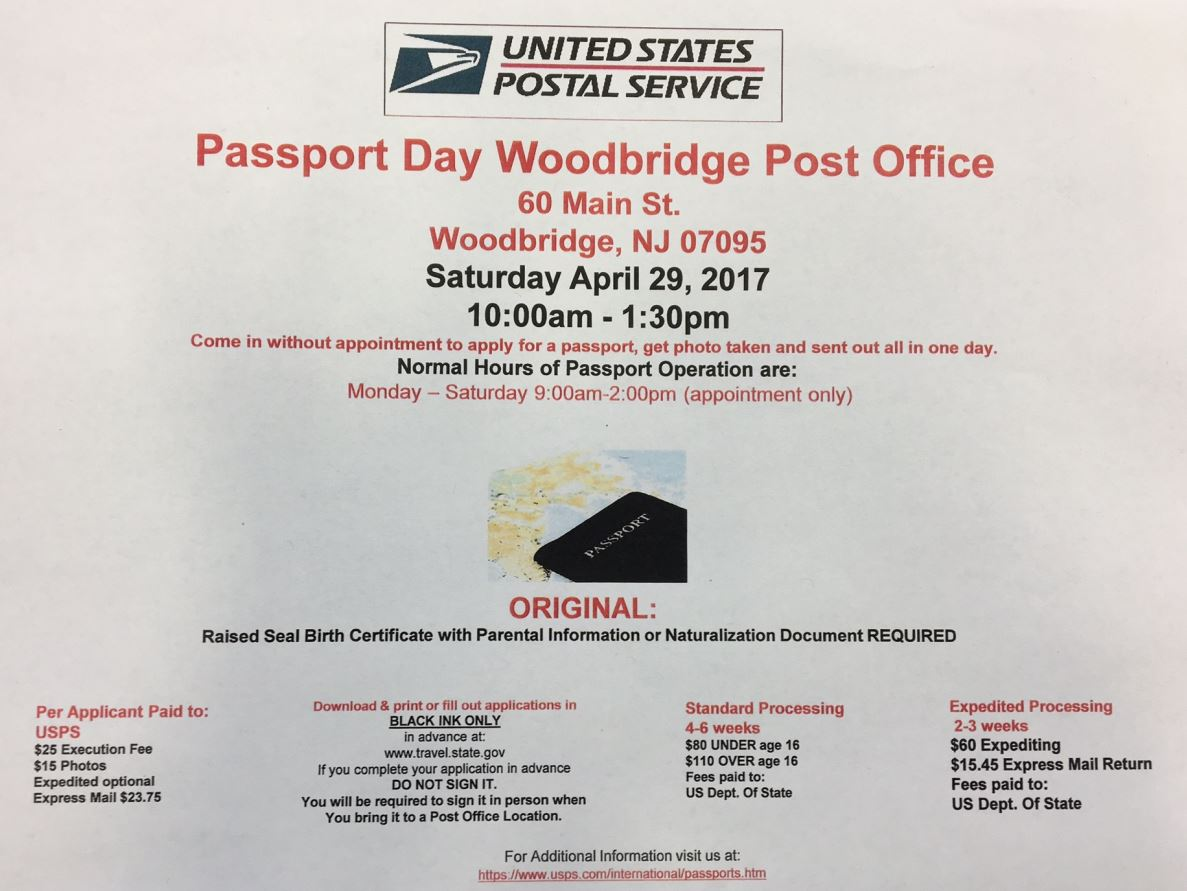 Need #passport Help? Make Sure To Check Out The #woodbridge @usps Passport  Get Your Birth Certificate