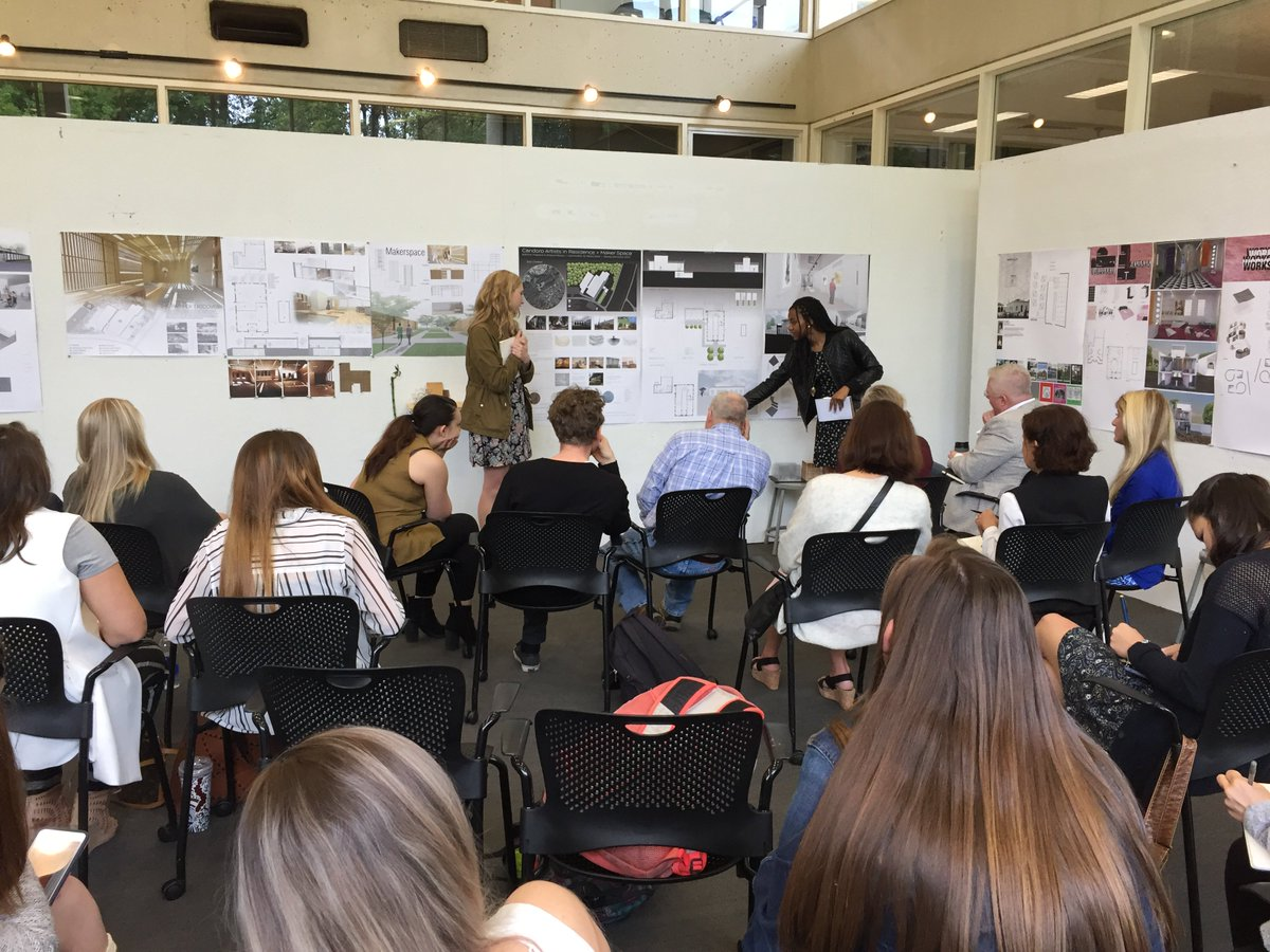 UT Arch Design On Twitter 2nd Yr Interior Final Review Of Lisa Mullikin And Merita Soinis Studio Work Focused Maker Space CandoroMarble