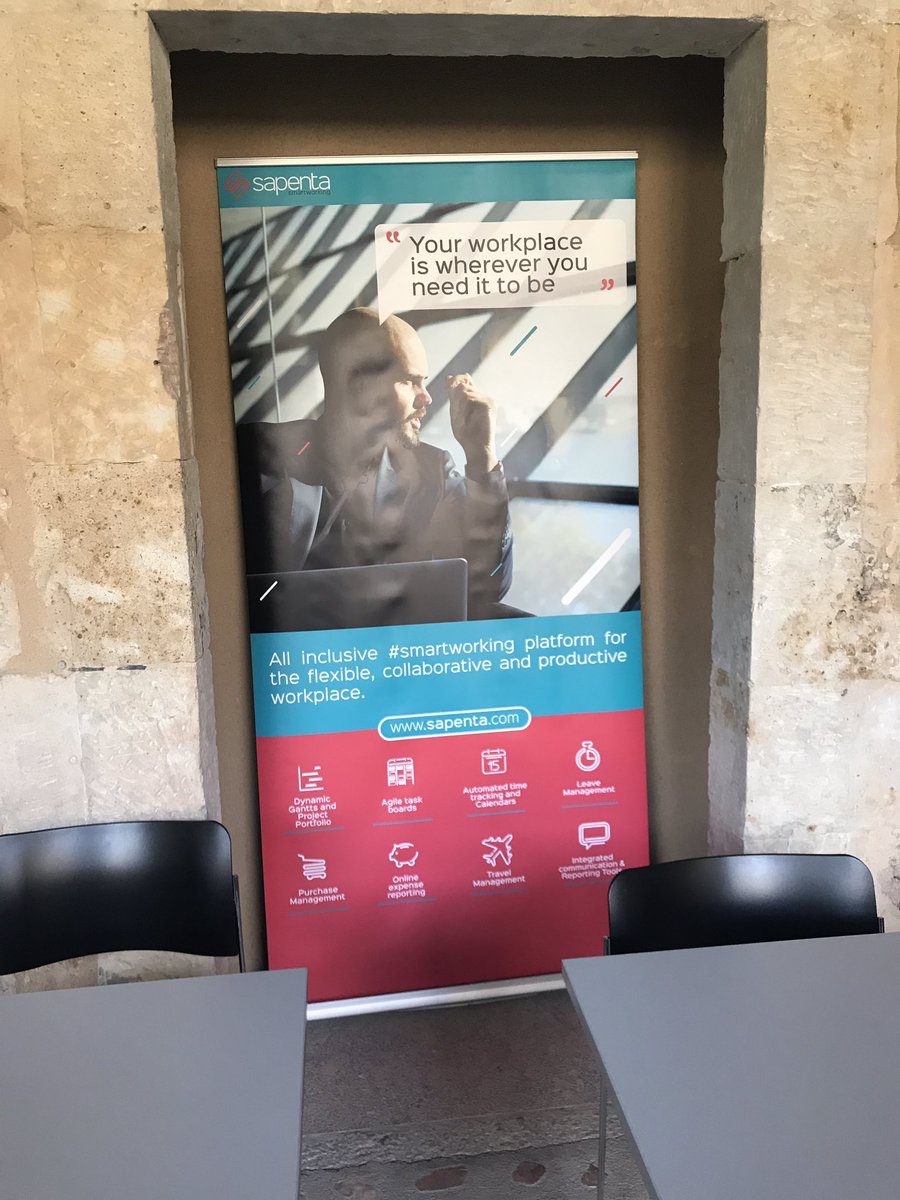 &#39;Your Workplace is wherever you need it to be&#39; @Sapenta_en #StartupOle #salamanca #DigitalWorkplace<br>http://pic.twitter.com/0A206DlT9c