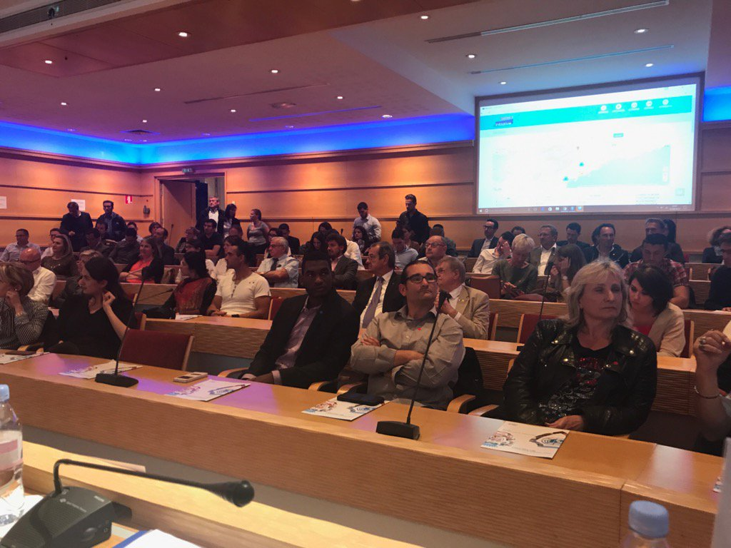Salle remplie pour le lancement  du réseau des créateurs @InitiativeNca avec @JCENiceCA à la @CCIcotedazur https://t.co/JFm0eQixmm