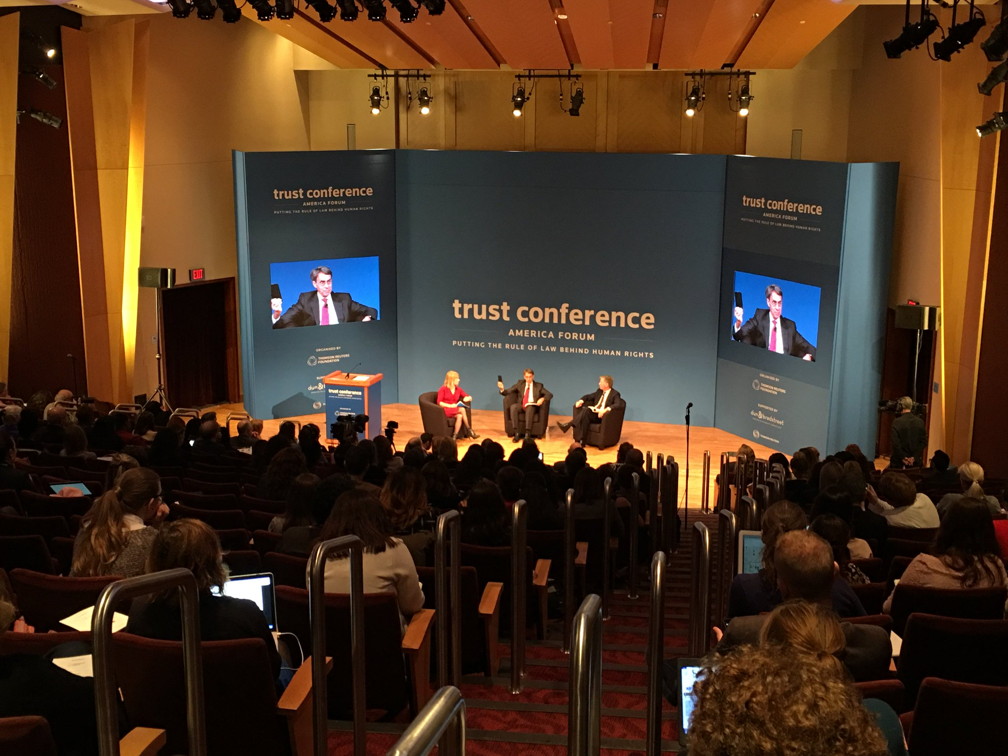Full house today at @Georgetown for #trustconf2017. Tune in at https://t.co/afvmqmuDZt as we talk privacy, cyber security and human rights. https://t.co/UHJw4x6Xdl