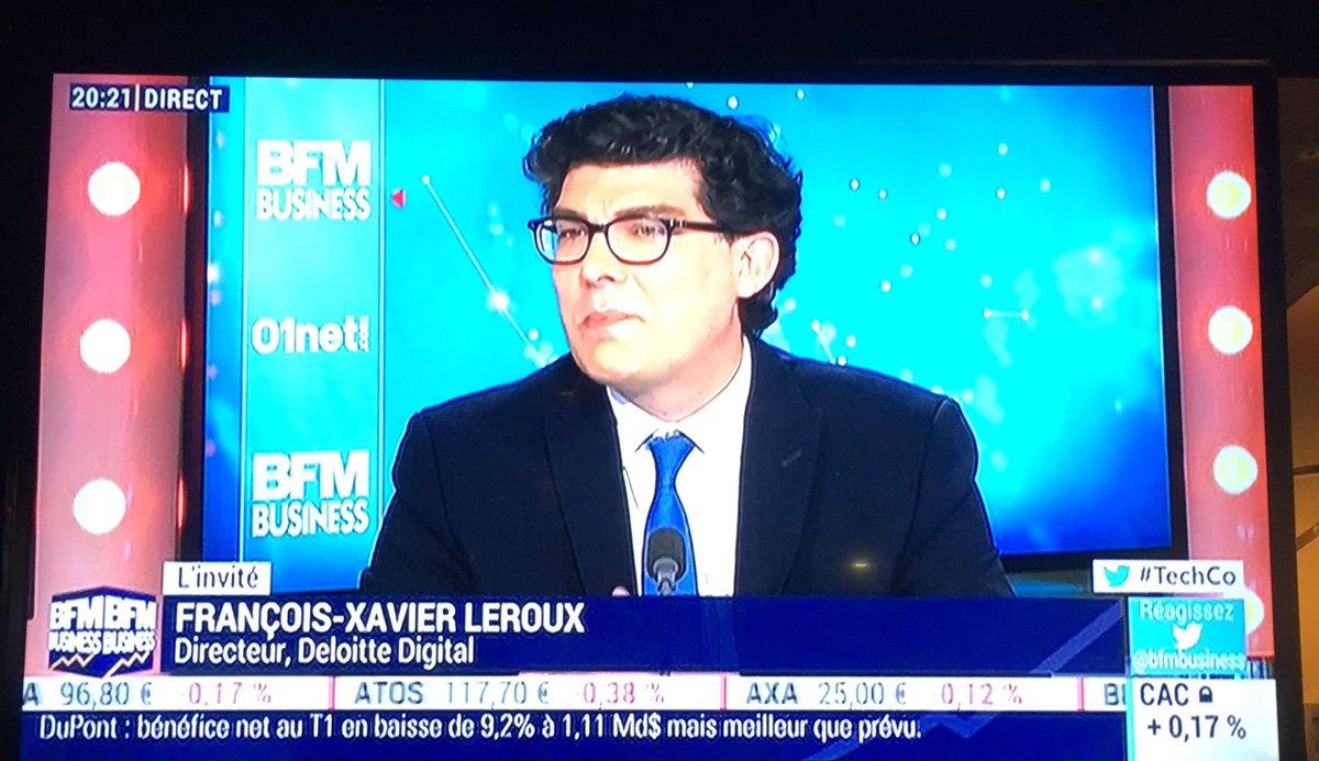 @leroux_francois sur #BFMBusiness présente les #techtrends @DeloitteFrance @DeloitteDIGI_FRpic.twitter.com/lydQVUfbl1