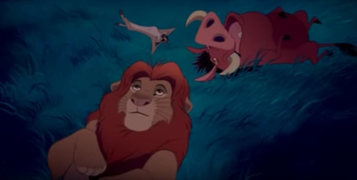 Image result for the lion king 1994 under the stars