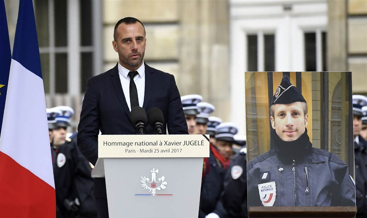 Partner of police officer slain in Paris attack gives heartbreaking eulogy. https://t.co/fljdQZqfLm