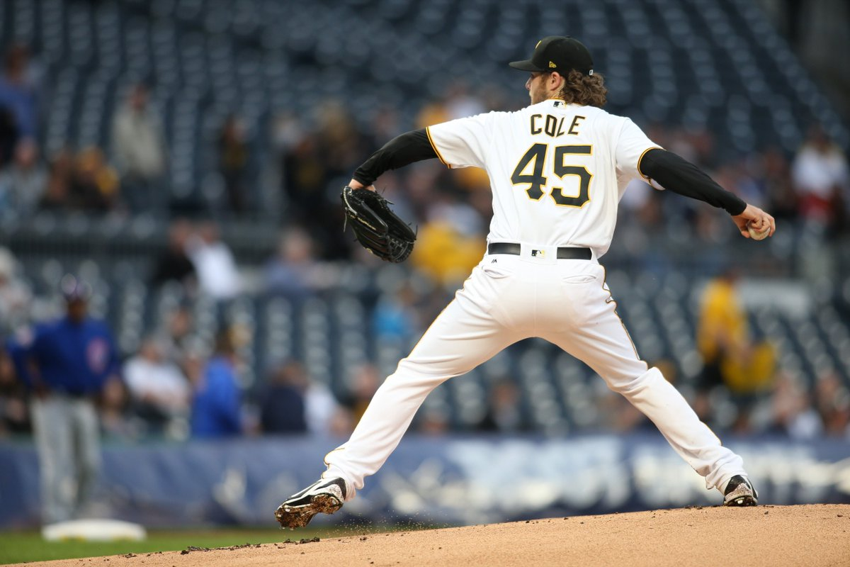 We're thru 2 here at PNC with the Bucs down a run.  Gerrit Cole K coun...