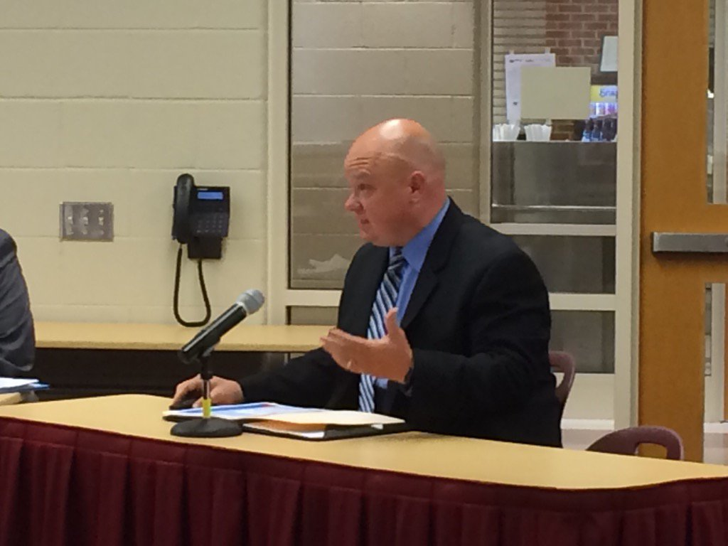 Following up on questions from last meeting, Western Center Principal Chris  Moritzen now updating Pottsgrove Board. https://t.co/SBWza8GiAZ