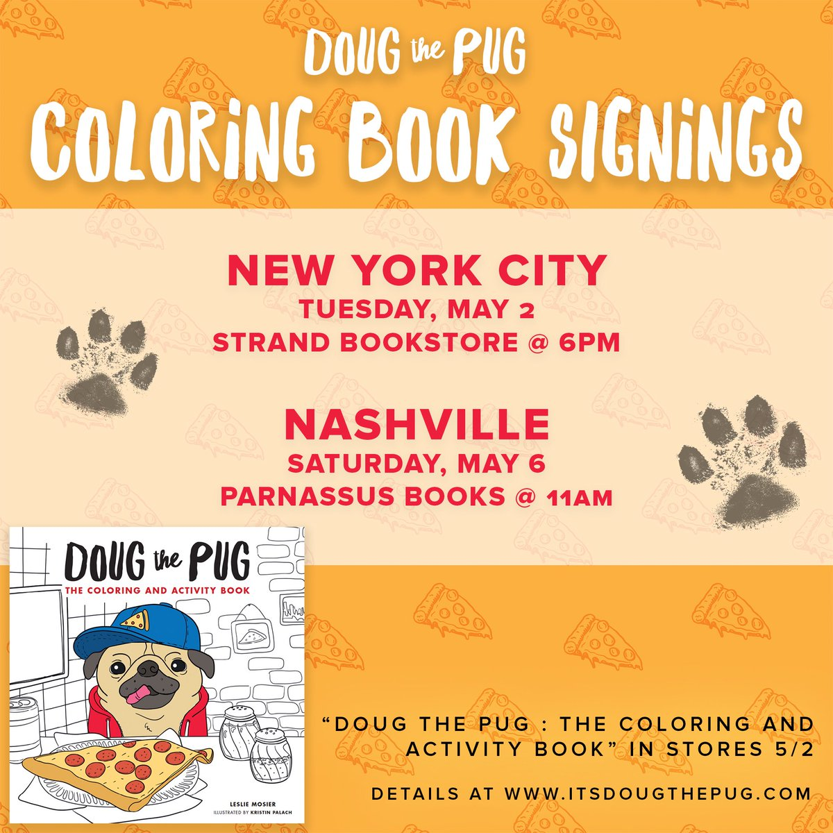Doug The Pug On Twitter NYC NASHVILLE Come Meet Me Get A