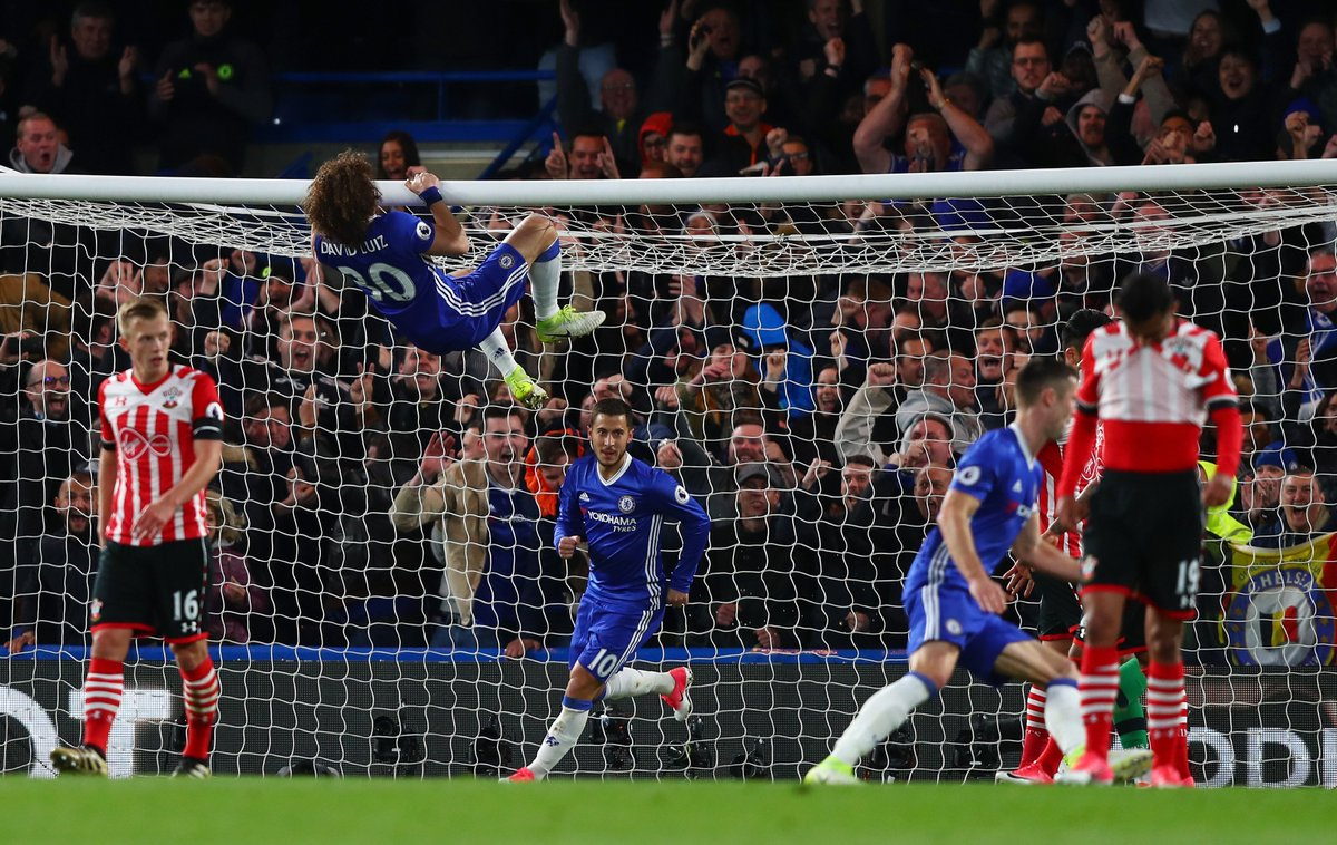 .@DavidLuiz_4 enjoyed that one! #CHESOU https://t.co/IajkJkKsPx