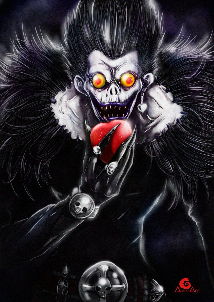 Adrian Art On Twitter Ryuk Death Note Deathnotefanpge