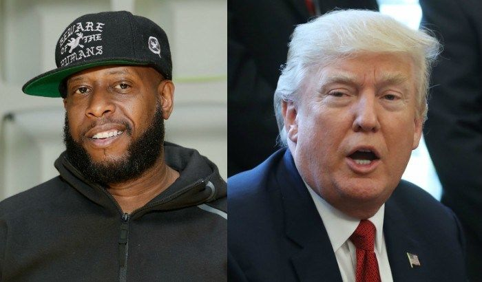 Talib Kweli describe Trump's presidency as 'America paying us back for...