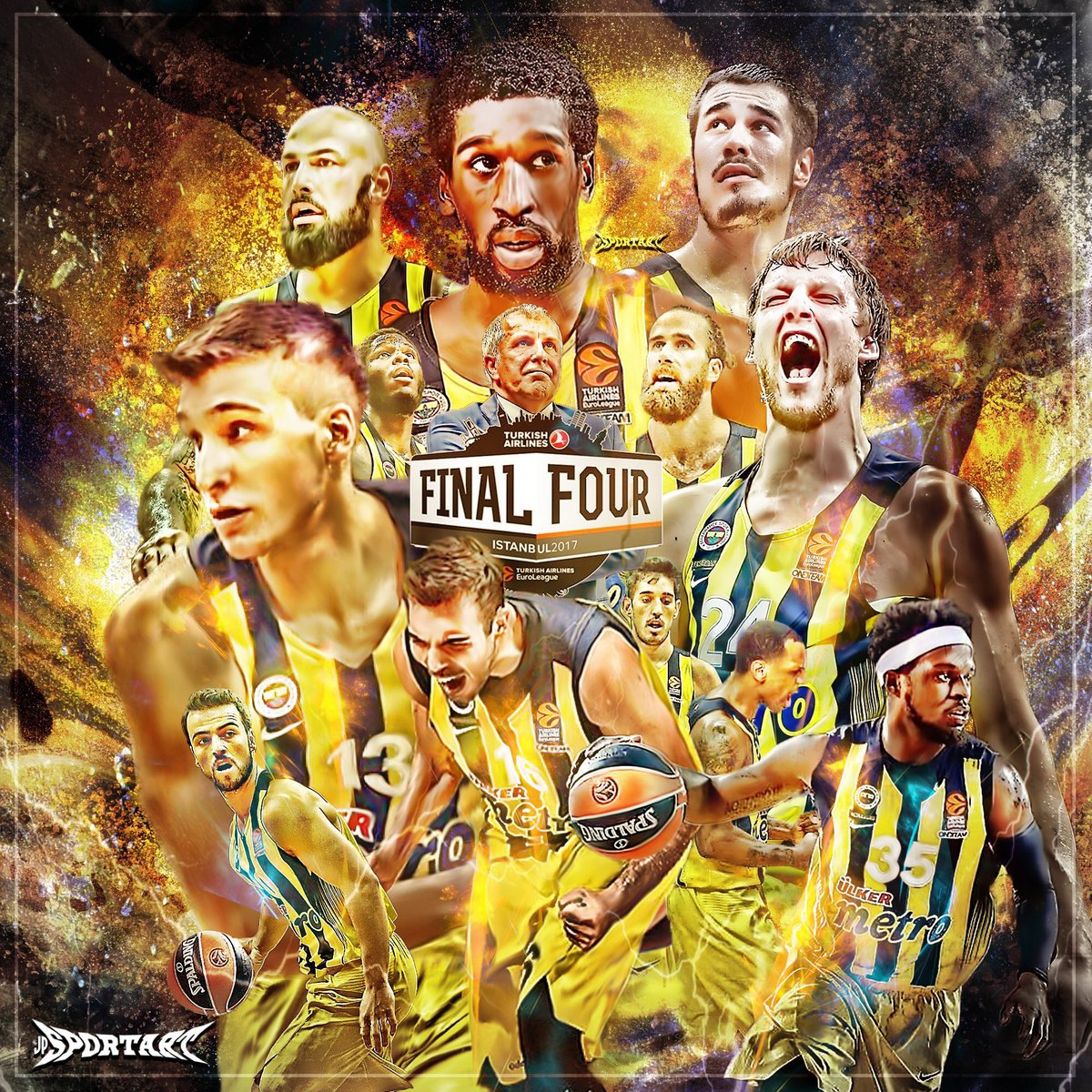Another step closer to unfinished business #fenerbahce #euroleague #f4...