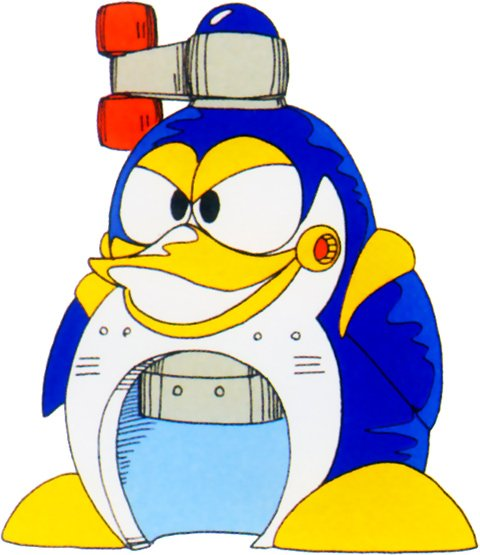 Penguins don't make good henchbots... But they make great shaved ice....