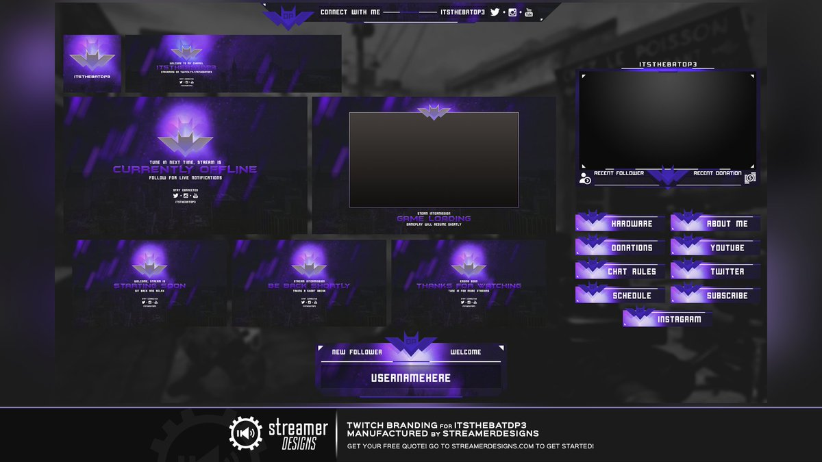 twitch layout template - streamerdesigns on twitter let 39 s build something