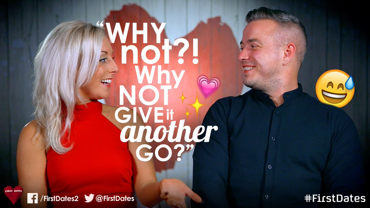 Our thoughts exactly. You just never know…✨ #FirstDates https://t.co/P...