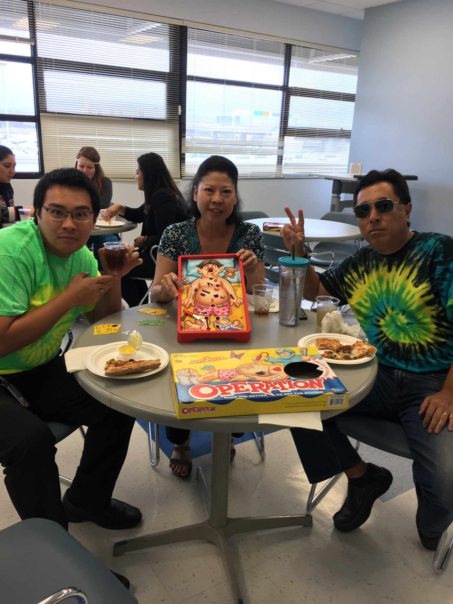 1960s pizza 🍕 & board game party. Celebrating when it all began #ceridianhawaii50 https://t.co/NjsCt9RTUW