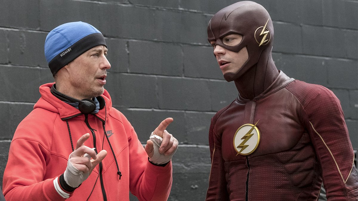 West Coast, a new episode of #TheFlash directed by @CavanaghTom is in...