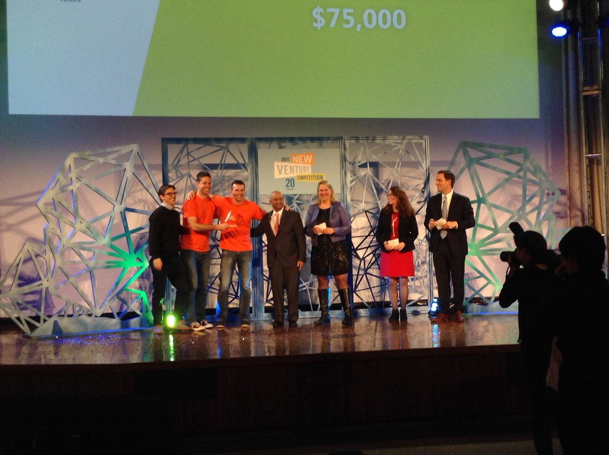 The winner of the @HBSRock Business Track grand prize is Veho! #HBSNVC